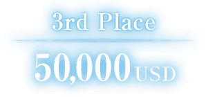 3rd Place 50,000USD